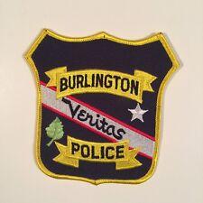 BURLINGTON VERITAS POLICE PATCH
