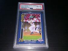🔥 2010 Cedar Rapids Kernels Mike Trout Minor League Rookie Blue Border PSA 8