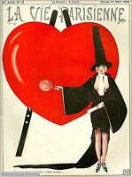 307795 1926 La Vie Parisienne Je Vais Parler France French PRINT POSTER CA