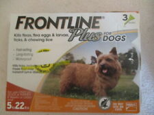 Frontline Plus Flea and Tick Treatment for Dogs 3 Doses Small Dog (5-22 lbs.)