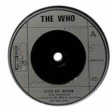 """The Who - Let's See Action - 7"""" Record Single"""