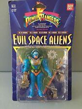 Power Rangers Evil Space Aliens Eric le BARBARE NEUF dans emballage d'origine