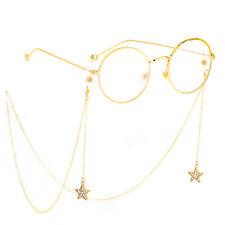 Star Glasses Neck Long Chain Strap Spectacle Eyeglasses Sunglasses Cord Holder