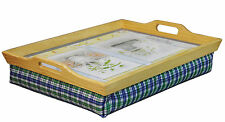 Aidapt Wooden Cushioned Lap Serving Food Worktop Lightweight Aid Tray #938C