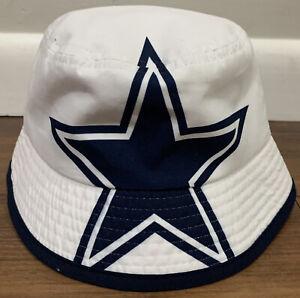 Dallas Cowboys Bucket Hat Infant Size NFL Hats White