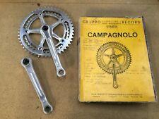 Vintage  crankset CAMPAGNOLO  RECORD STRADA 170  49-41 old vintage