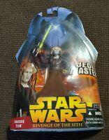 Star Wars Revenge of the Sith Action Figure Hasbro 30 - Saesee Tiin Jedi Master