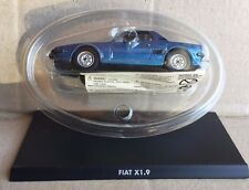 "DIE CAST "" FIAT X 1.9 HACHETTE "" 1/43 HACHETTE AUTO ITALIANE"