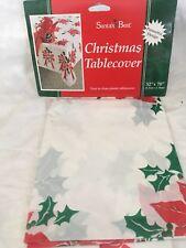 Santas Best Plastic Table Cover 52x70
