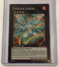 Yu-Gi-Oh! Evolzar Laggia CT09-EN011 Super Rare Limited Edition Nr Mint