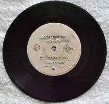 "Randy Crawford, One Day I'll Fly Away, Tender falls In The Rain, 1980, 7"" 4 (30)"