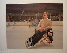 Ken DANBY Bobby Orr SIGNED Boston Bruins Garden print Limited edition art