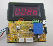 Red 12V 4 Digits LED Counter Panel Meter Up Down Relay output for Game Machine