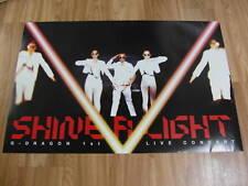 G-DRAGON  SHINE A LIGHT 2 CD +UNFOLD POSTER SET BIGBANG