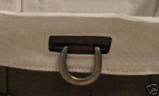 Longaberger~ Flax Fabric Liner (ONLY)for Sort & Store Large Desktop Basket NIP
