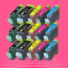 15P BCI-3e BK PBK C M Y INK CARTRIDGE FOR CANON IP5000