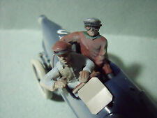 2  FIGURINES  SET 53  PILOTES  BUGATTI  1929  VROOM  UNPAINTED 1/43  A  PEINDRE