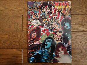 KISS 1977 1st JAPAN TOUR Tour Book Concert Program