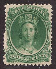 Sc# 11 - Nova Scotia - 1860 - 8½c - Queen Victoria - MH VF - superfleas -