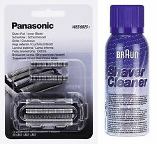 Panasonic wes 9025y cisaillement diapositive + lame es-la93 es-la83 + marron de nettoyage spray