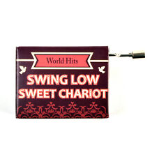 Swing Low Sweet Chariot Music Box - Worldwide Hits - Handcrank Music Hurdy Gurdy