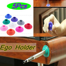 5Pc Portable Silicone Suction Stand Holder for EGO Electronic Cigarette Vape Pen