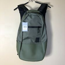 ASICS Army Green Tall Backpack NWT Handle Sternum Strap Men's Unisex