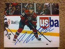 Nino Niederreiter Autographed 8x10 Minnesota Wild NY Islanders SWISS