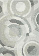 Ragolle Argentum Designer Teppich 63692 6737 Kreise grau hellgrau