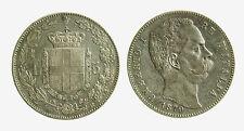 pcc2070) Regno Umberto I (1878-1900) Scudo 5 lire 1879  Due FFRT + FERT al bordo