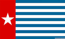 """WEST PAPUA 18"""" x 12"""" FLAG suitable for Boats Caravans Treehouses flags"""