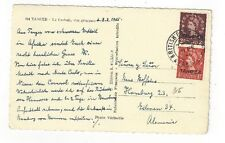 Tangier Morocco British Post Office, to Germany