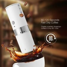 Portable USB Electric Coffee Maker Automatic Coffee Machine Built-in Filter Cup