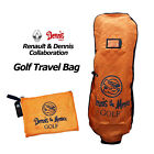 Genuine Renault Travel Golf Bag Collaborated with Dennis