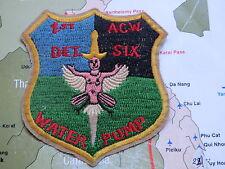 PATCH , 1st det , acw six  , great patch