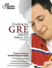 Cracking the GRE Math Test, 3rd Edition, Steven A. Leduc, 0375764917, Book, Acce