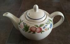 "Staffordshire ""Canterbury"" English Tableware China Teapot"
