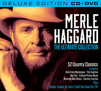 Merle Haggard The Ultimate Collection Set (Deluxe Edition CD & all region DVD)