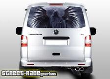 VW Volkswagen Transporter T5 Portón Trasero envoltura de vinilo de gráficos de 216 Impreso Reaper