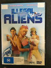 Illegal Aliens ex-rental region 4 DVD (Anna Nicole Smith, WWE Chyna movie) rare