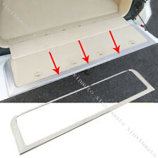 Rear Trunk Tailgate Frame Molding Cover Trim For Toyota Land Cruiser LC200 08-19
