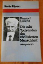 Die acht Todsünden der zivilisierten Menschheit v. Konrad Lorenz