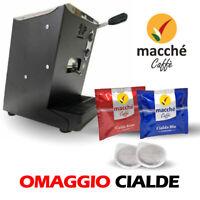 MACCHINA CAFFE' FILTRO CARTA 44MM LOLLO LOLLINA VARI COLORI + 60 CIALDE OMAGGIO