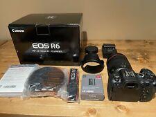 Canon EOS R6 20.1MP Mirrorless Camera - Black (RF 24-105mm f/4 L IS USM Lens Kit