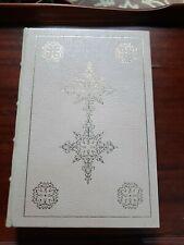LITTLE WOMEN Louisa May Alcott Easton Press Leather Super RARE WHITE EDITION