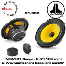 "JL Audio C1-650 - C1 6.5"" (165 mm) 2-Way Component Door Speakers 225W Each"