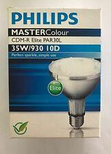 Philips MasterColour CDM-R elite 35w 930 par30 10° spot ES/E27 metal halide