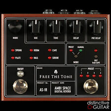 NEW FREE THE TONE AMBI SPACE DIGITAL REVERB GUITAR EFFECTS PEDAL