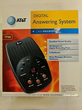AT&T 1726 Digital Answering Machine System with 3 Mailboxes