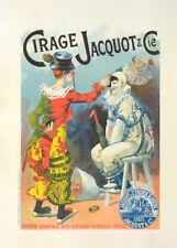 Cirage Jacquot et Cie by Lucien Lefevre 90cm x 64cm Art Paper Print